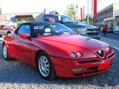 Capota Alfa Romeo Spider GTV