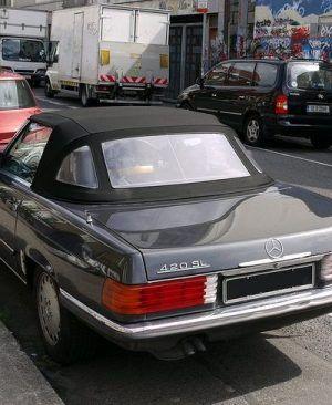 capota mercedes sl 107 cabrio