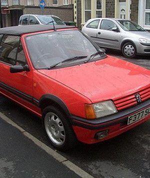 capota peugeot 205 cabrio
